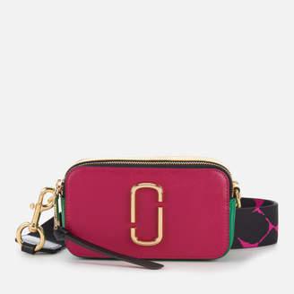 Marc Jacobs Women's Snapshot Cross Body Bag - Magenta/Multi