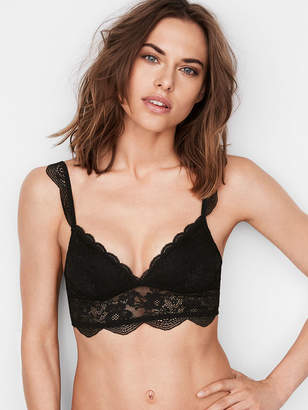 Victoria's Secret The Bralette Collection Floral Lace Long Line