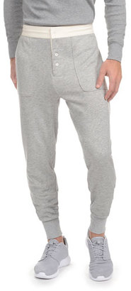 2Xist Heritage Jogger Pants, Light Heather Gray $68 thestylecure.com