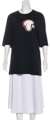 3.1 Phillip Lim Embroidered Short Sleeve Top