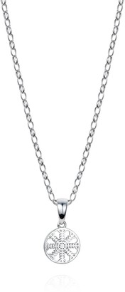 Hendrikka Waage Helm Of Awe Sterling Silver Necklace With Xsmall Charm