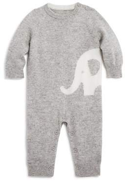 Bloomingdale's Bloomie's Unisex Intarsia Elephant Cashmere Coverall, Baby - 100% Exclusive