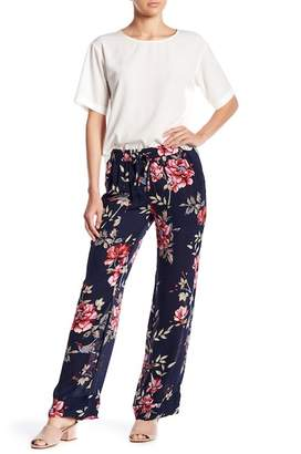 Joie Daltona Floral Print Silk Pants