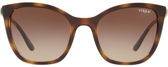 Vogue Eyewear oversized tinted sunglasses