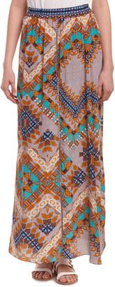 Rococo Sand The Master Print Silk Maxi Skirt