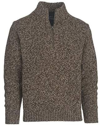 Woolrich Men's Kennebeck Shetland Wool Rag Half Zip Sweater