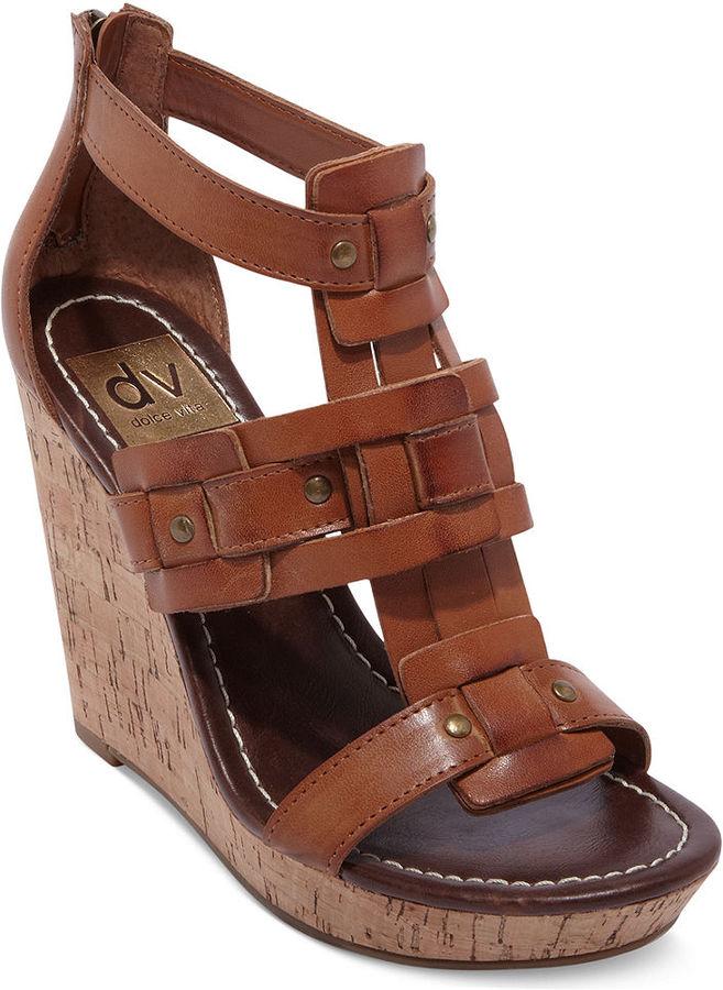 Dolce Vita Tex Platform Wedge Sandals