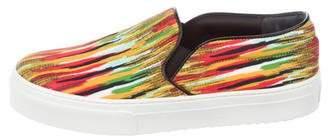 Celine Printed Slip-On Sneakers