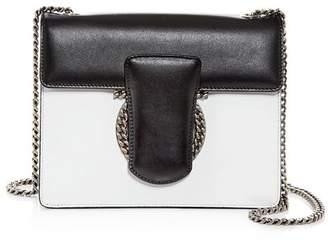Salvatore Ferragamo Thalia Small Color-Block Leather Shoulder Bag