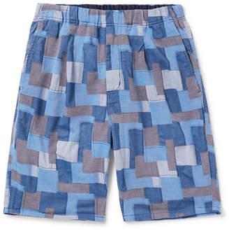 5bcbda9900 Nonnative Manager Easy Patchwork Cotton Shorts
