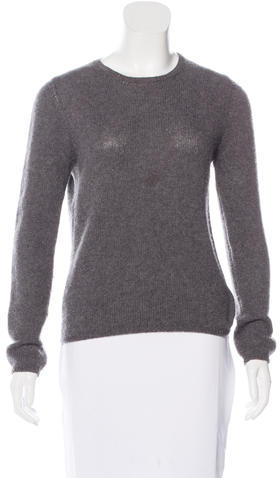 pradaPrada Knit Scoop Neck Sweater