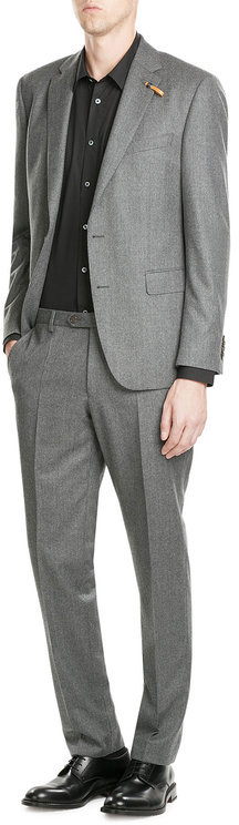 BaldessariniBaldessarini Virgin Wool Suiting Trousers