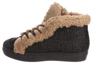 Laurence Dacade Hugh Ponyhair High-Top Sneakers