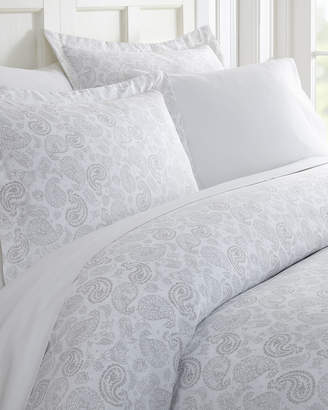 Ienjoy Home Coarse Paisley 3-Piece Duvet Cover Set, King