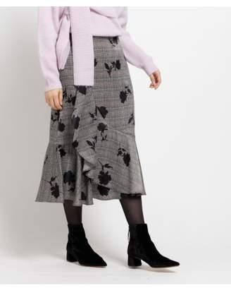 aquagirl (アクアガール) - エージー バイ アクアガール グレンチェック&フラワースカート