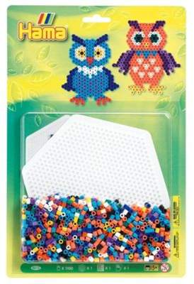 Hama beads Large Blister Pack Owls