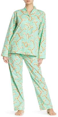 SANT AND ABEL Giraffe Pants & Shirt Pajama 2-Piece Set