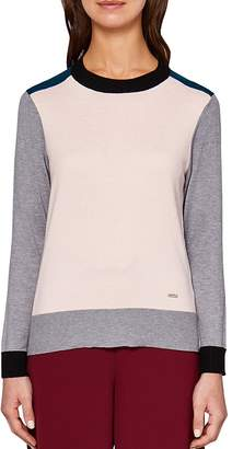 Ted Baker Colour by Numbers Avrilyn Color-Block Sweater