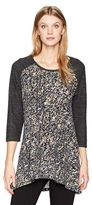 Jag Jeans Women's Kaia Colorblock Tunic