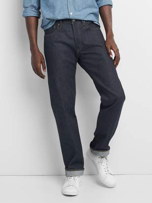Gap Limited-Edition Cone Denim Selvedge Straight Jeans with GapFlex
