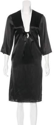 MM6 MAISON MARGIELA MM6 by Maison Martin Margiela Silk Midi Dress w/ Tags