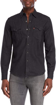 Levi's Black Denim Classic Western Shirt