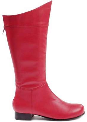 Ellie Shoes Inc Shazam Red Boots Men's Adult Halloween Costume Accessory
