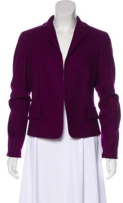 Akris Punto Wool Angora-Blend Blazer