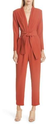 A.L.C. Kieran Belted Crop Jumpsuit