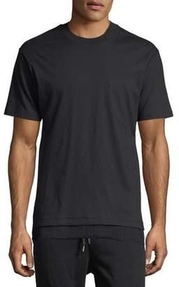 Public School Walcott Mesh-Trim T-Shirt