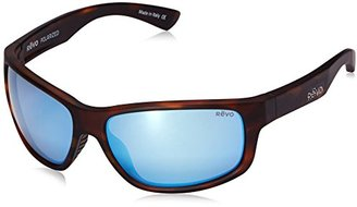 Revo Baseliner RE 1006 02 BL Polarized Wrap Sunglasses, Brown Crystal/Blue Water, 61 mm $189 thestylecure.com
