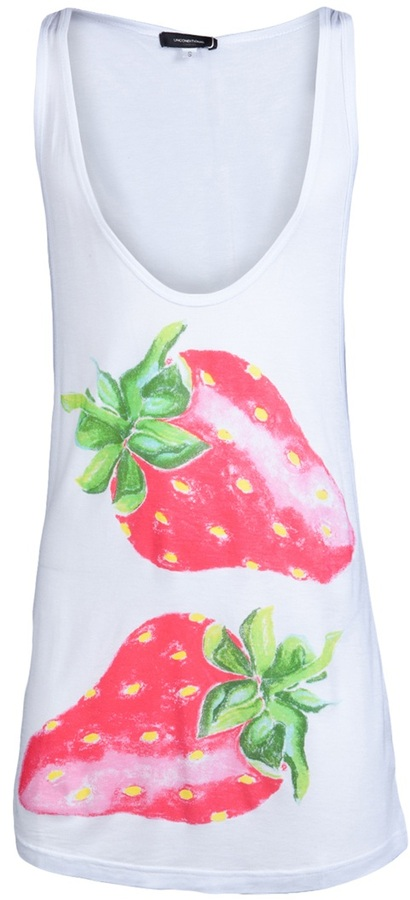 Unconditional STRAWBERRY TANK T-SHIRT