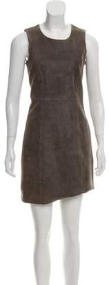 Theyskens' Theory Suede Textured Dress