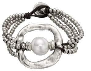 Uno de 50 A Pearl Of Wisdom Bracelet