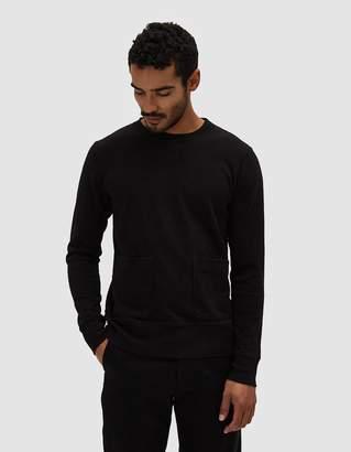 Velva Sheen Heavy oz. Crewneck Sweatshirt in Black
