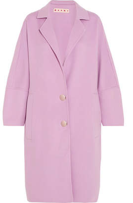 Marni - Oversized Wool, Alpaca And Cashmere-blend Coat - Lilac