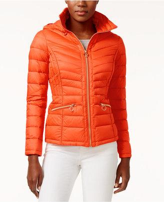 MICHAEL Michael Kors Packable Down Puffer Coat $190 thestylecure.com