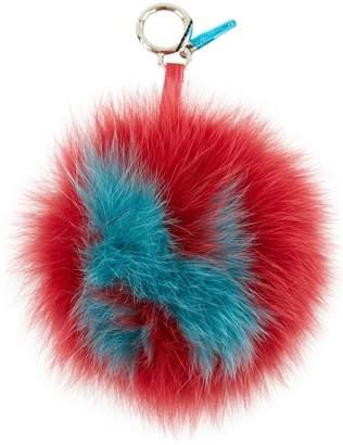Fendi Pompon Karl Red Fox Bag charms