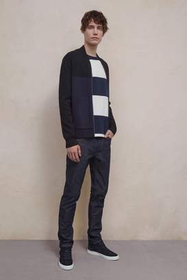 French Connenction Lakra Block Ski Knit Zip Jacket