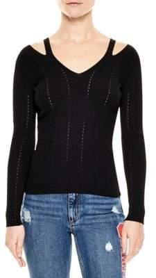 Sandro Nolwene Cutout Sweater