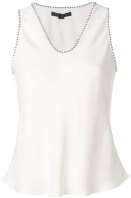 Alexander Wang studded trim blouse