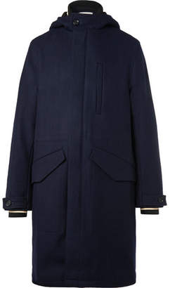 Oliver Spencer Priory Hooded Wool Parka
