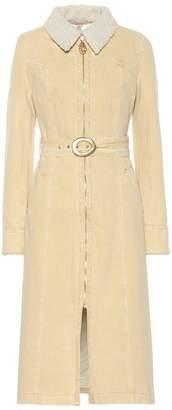 Nanushka Seeker cotton coat