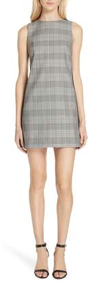 Alice + Olivia Clyde Glen Plaid Shift Dress