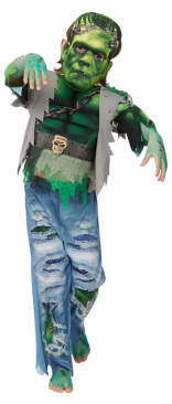 George Halloween Frankenstein Fancy Dress Costume