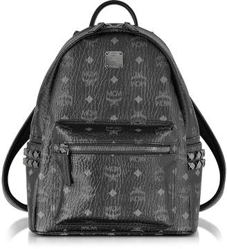 MCM Stark Black Small Backpack
