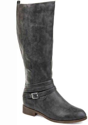 Journee Collection Ivie Wide Calf Riding Boot - Women's