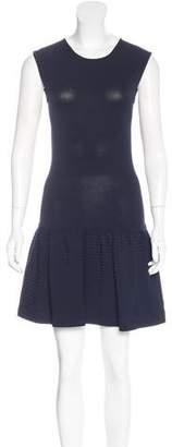 Akris Sleeveless Flounce Dress
