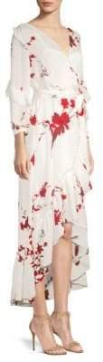 Joie Anawrette Ruffle Wrap Dress