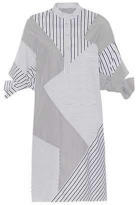 Victoria Victoria Beckham Striped cotton shirt dress